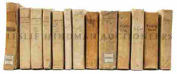 63: (CLASSICS) LIVY. A group of 13 volumes by the Roman