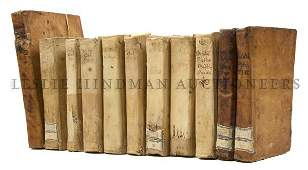 65: (CLASSICS) OVID. A group of 11 volumes by the Roman