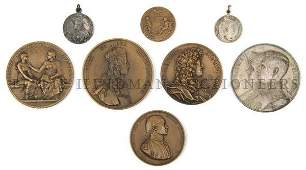 493: A Collection of Five Bronze Medals, Diameter of la