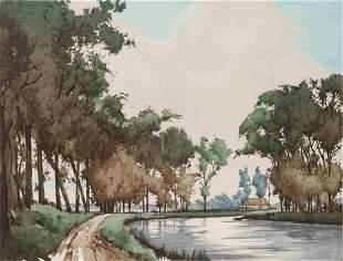 Roger Hebbelinck (Belgian, b. 1912)