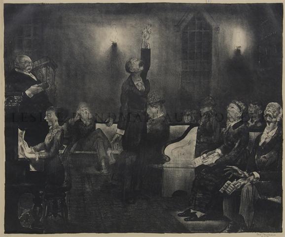 3: George Wesley Bellows, (American, 1882-1925), Prayer