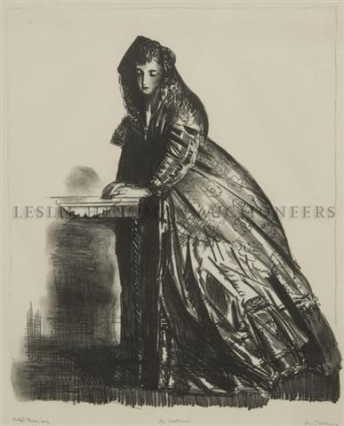 7: George Wesley Bellows, (American, 1882-1925), The Ac