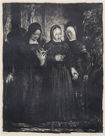 10: George Wesley Bellows, (American, 1882-1925), The N