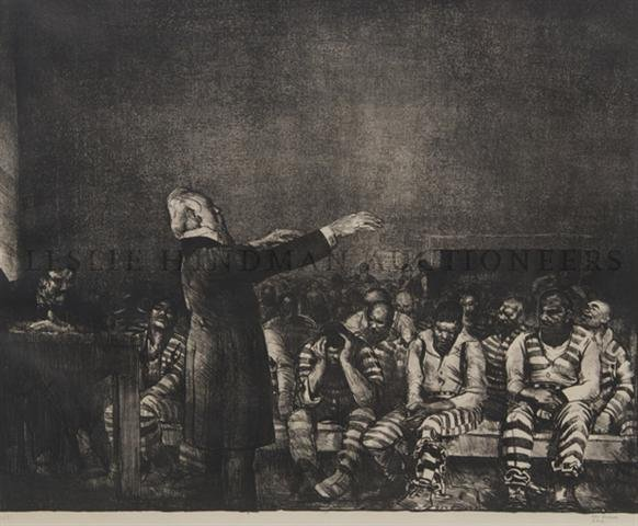 11: George Wesley Bellows, (American, 1882-1925), Bened