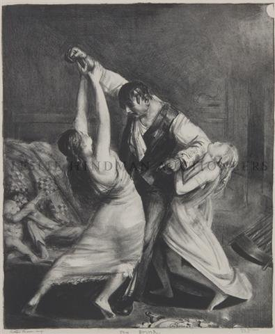 14: George Wesley Bellows, (American, 1882-1925), The D