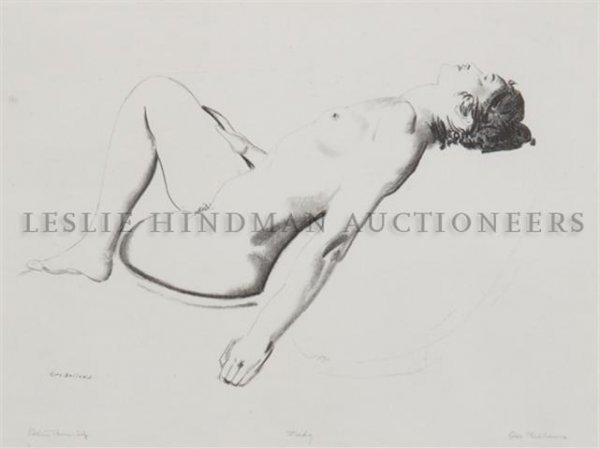 16: George Wesley Bellows, (American, 1882-1925), Nude