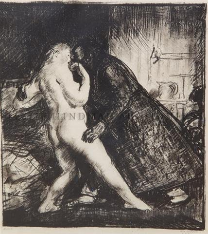 17: George Wesley Bellows, (American, 1882-1925), The A
