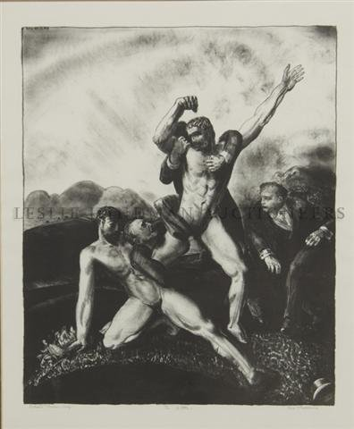 22: George Wesley Bellows, (American, 1882-1925), The B