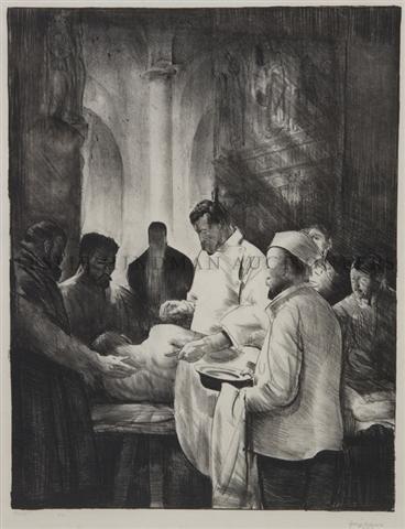 24: George Wesley Bellows, (American, 1882-1925), Base