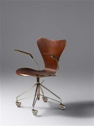 Arne Jacobsen (Danish, 1902-1971) Sevener Desk