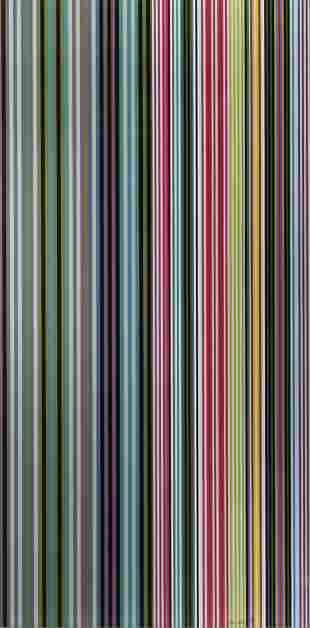 Gene Davis (American, 1920-1985) Untitled, 1973