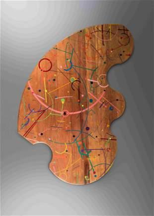 Jay Stanger (American, b. 1956) Wooden Rug, 1993