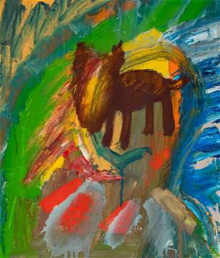 Richard B. Mock (American, 1944-2006) Untitled (Dog)