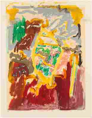 Larry Poons (American, b. 1937) Untitled, 1992