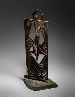 David Hare (American, 1917-1992) Figure and Window,