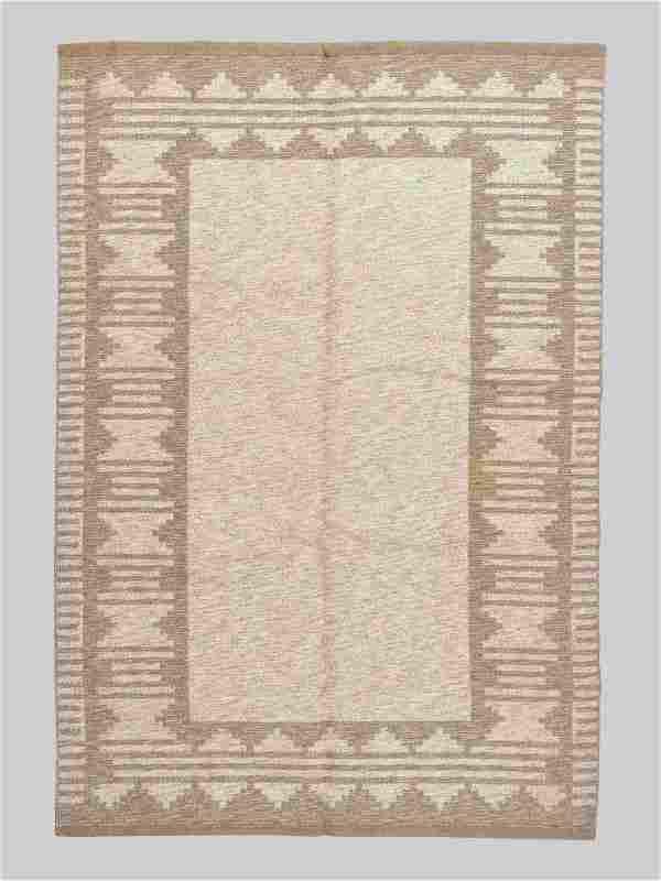Swedish Mid 20th Century Flatweave Rug