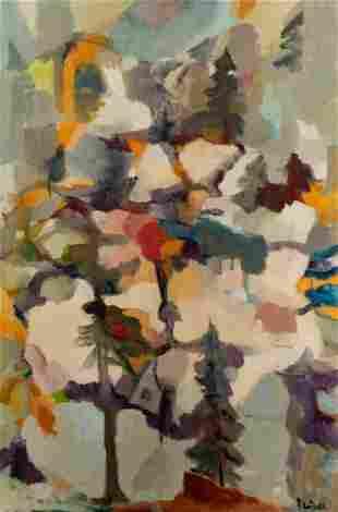 Maria F. Fleischl (American, 1911-1997) Light in Winter