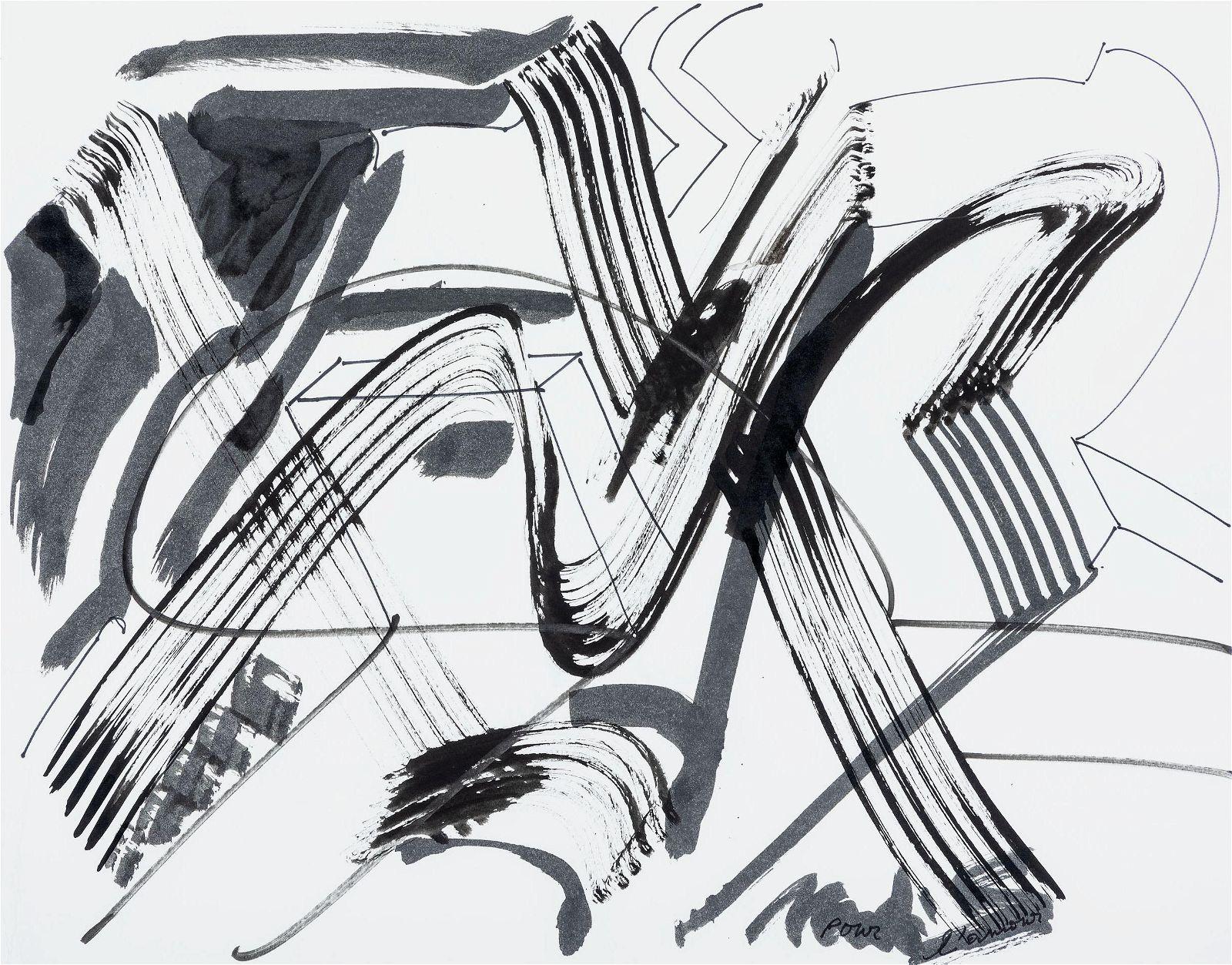 Mark di Suvero (American, b. 1937) Untitled, 2000
