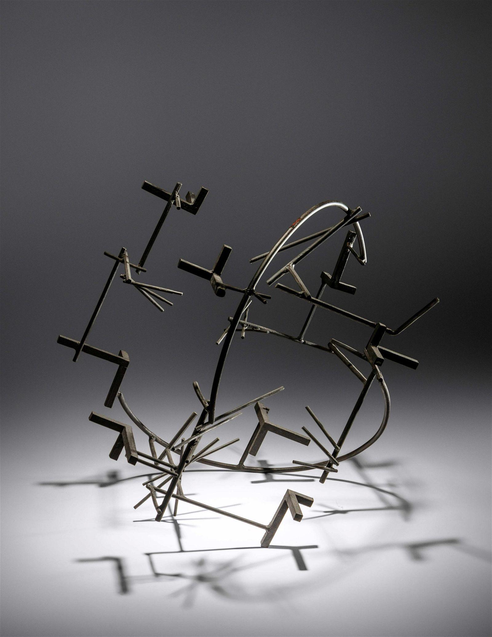 Pablo Serrano (Spanish, 1910-1985) Abstract Around