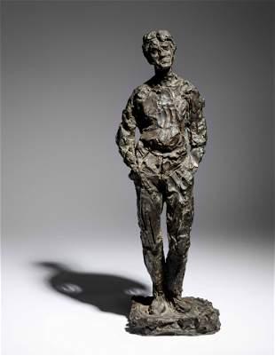 William Chattaway (English, 1927-2019) Male Standing