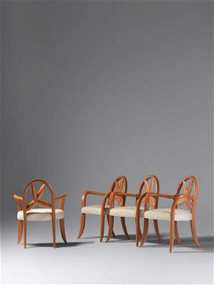 Wendell Castle (American, 1932-2018) Set of Four Chairs