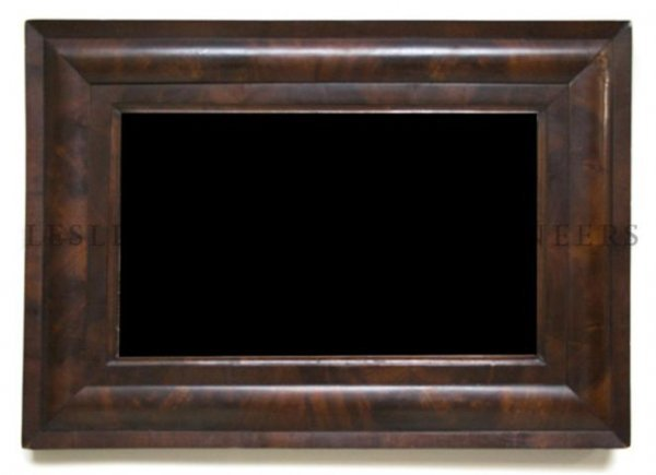 An Empire Mirror, Height 22 x width 31 inches.