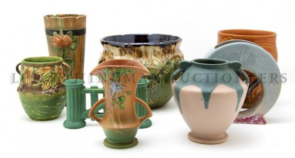 A Collection of American Pottery Articles, Height of ta