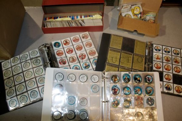 An Extensive Collection of Salada-Junket Sports Coins,