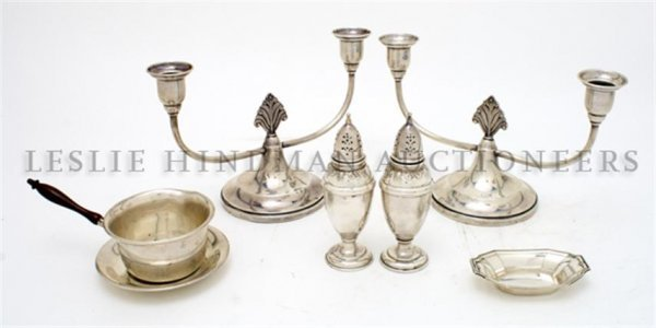 A Collection of Silver Decorative Articles,