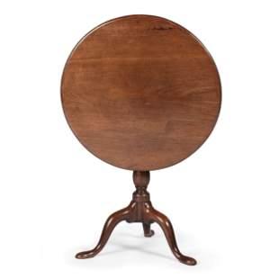 An English Mahogany Tilt Top Table