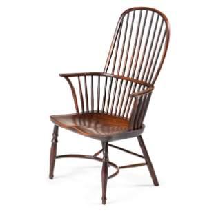 An English Comb-Back Windsor Armchair