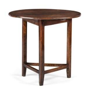 An English Oak Tavern Table