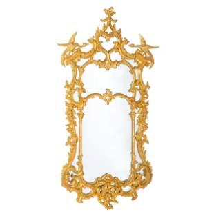 A George II Style Giltwood Mirror