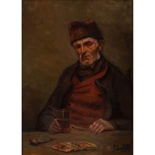 John Rettig (American, 1858-1932) Moppie (Dutch Head)