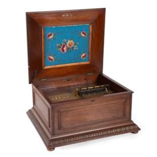A Regina 15 1/2 Inch Music Box