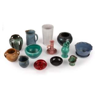 A Group of North Carolina Art Pottery