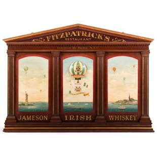 A Jameson Irish Whiskey Fitzpatrick's Restaurant