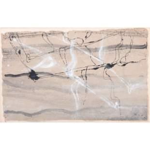 Mildred Fischer (American, 20th Century) Water Grasses