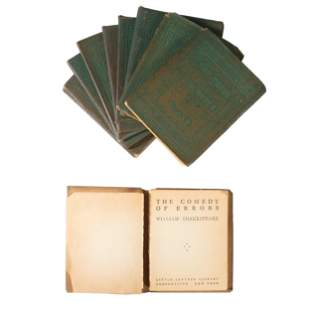 A Little Leather Library Book Set of Twenty Six