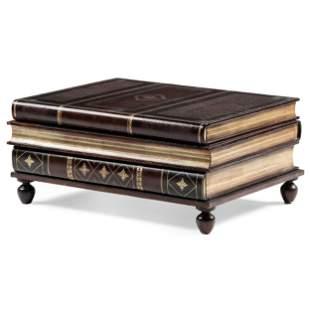 A Maitland Smith Book-Form Coffee Table