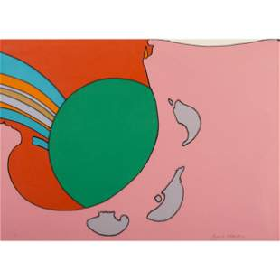Peter Max (American, b. 1937) Untitled