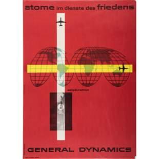 An Erik Nitsche Poster for Atome im Dienste des