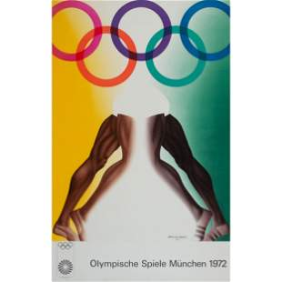 Five Exhibition Posters for the 1972 Munich Olympics