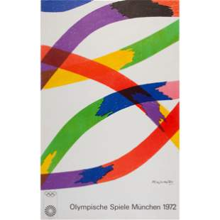 Four Exhibition Posters for the 1972 Munich Olympics