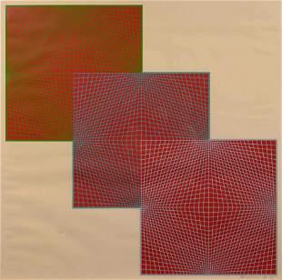 Richard Anuszkiewicz (American, 1930-2020) Untitled