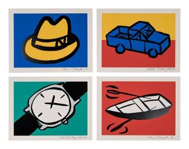 Tom Slaughter (American, 1955-2014) Recession Print I