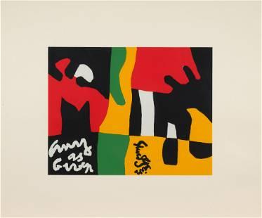 Stuart Davis (American, 1892-1964) Untitled (from Ten