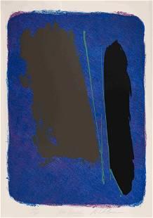 Dan Christensen (American, 1942-2007) Blue Rancho, 1981