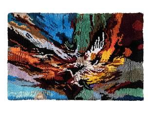 after Leonardo Nierman (Mexican, b. 1932) Tapestry