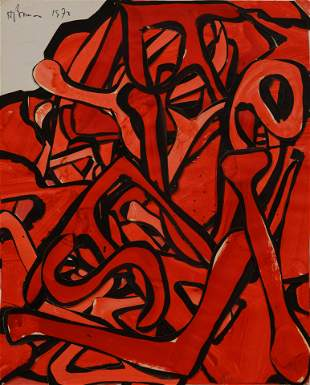 Harry Bouras (American, 1931-1990) Untitled, 1973
